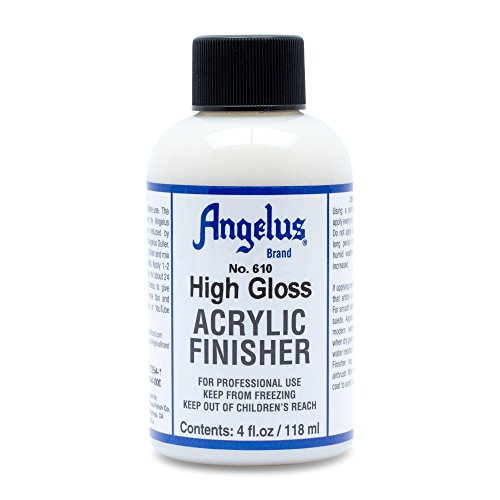 Angelus Brand Acrylic Leather Paint High Gloss Finisher No. 610 - 4oz (Best Shoe Repair Los Angeles)