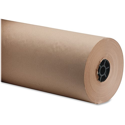 Sparco Bulk Wrapping Paper, 40 lb., 18-Inch x 1050-Feet, 8-1/2-Inch, Kraft by Sparco