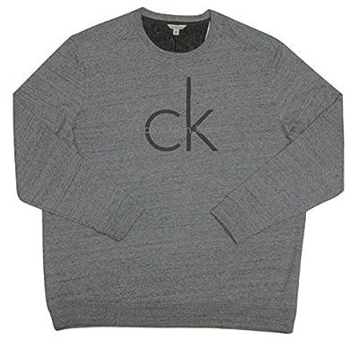 Calvin Klein Jeans Mens CK Print Crewneck Sweater