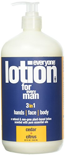 Eo, Lotion For Every Man Cedar Citrus Organic, 32 Fl - Body Herbal Eo Lotion