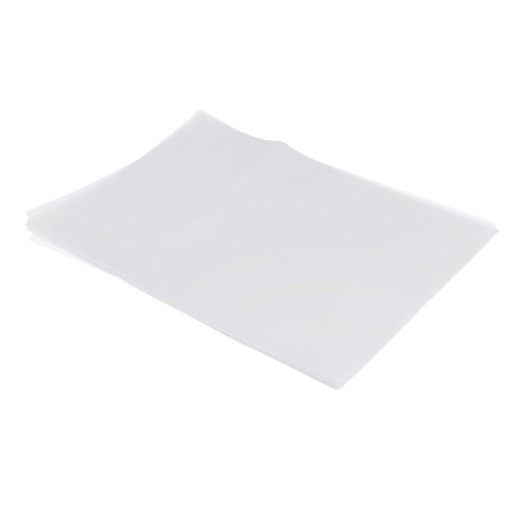 Fityle 20pcs Vellum Clear Translucent Tracing Papers for Art Drafts Cards Making A4