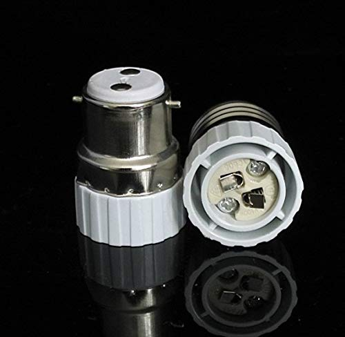 Halica 60PCS/ B22 TO MR16 adapter material fireproof material socket adapter