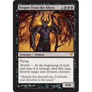 amazon com magic the gathering reaper from the abyss innistrad