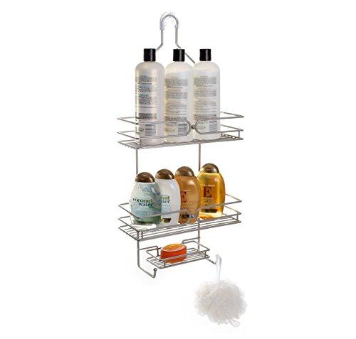 BINO Verona 3 Shelf Showerhead Nickel product image