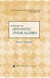 Advanced linear algebra second edition textbooks in mathematics a guide to advanced linear algebra dolciani mathematical expositions fandeluxe Image collections