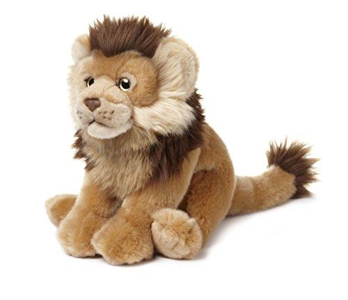 WWF 23cm Plush Lion Wildlife
