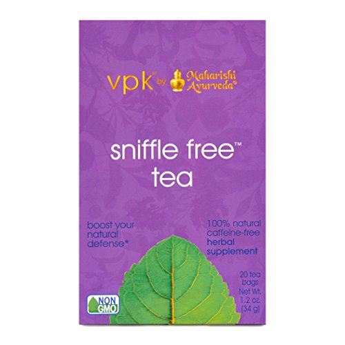 Sniffle Free Herbal Tea, 20 Herbal Tea Bags, 1.2 oz (34 g) (Malabar Nut)