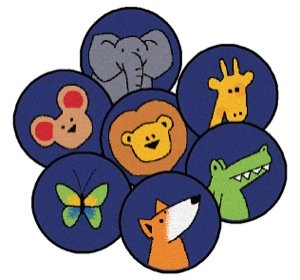 God's Animals (Set of 20) by Carpets for Kids