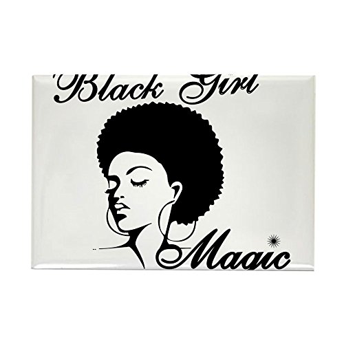 CafePress Black Girl Magic Magnets Rectangle Magnet, 2