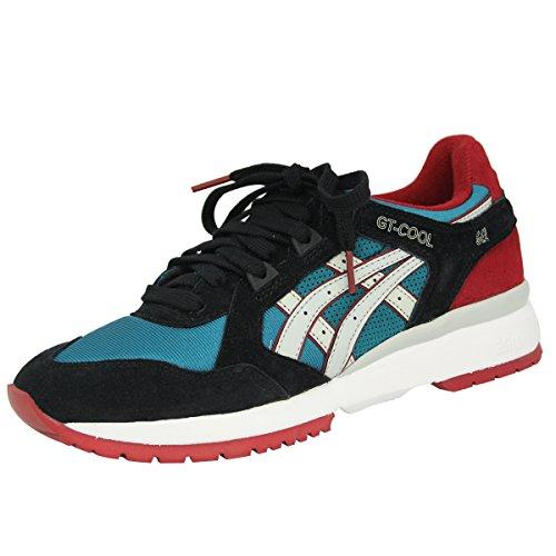Asics GT-COOL Schwarz Blau Herren Sneakers Schuhe Neu
