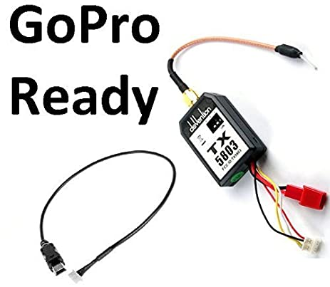 Amazon.com: DJI S1000 GoPro Wire Cable 200mW FPV Transmitter Live ...