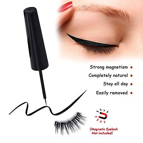 Magnetic Eyeliner for Applying Magnetic Eyelashes 4ml - Black Liquid Long Lasting Best Magnet Eyeliner Waterproof 2019 New