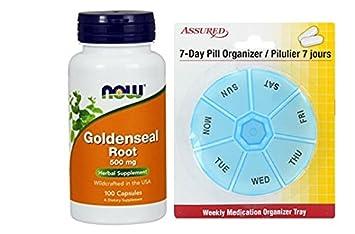 AHORA el sello de oro raíz 500 mg, 100 cápsulas