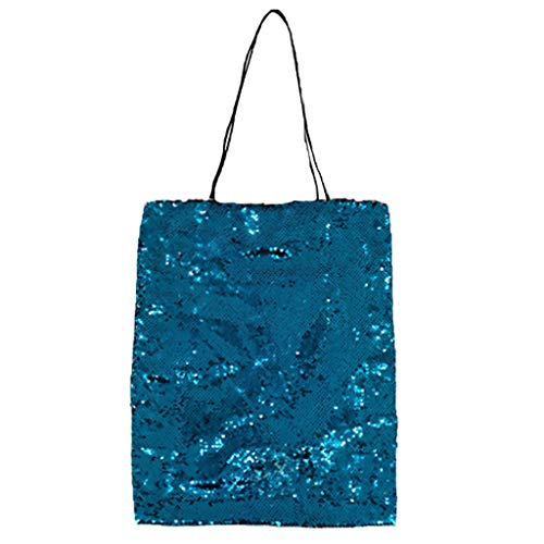 Pengy Women Sequins Shoulder Bags Summer Beach Tote Bags Glitter Bling Large Shopping Purse for Lady