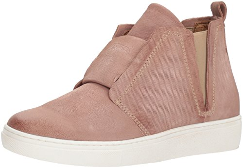 Miz Mooz WoMen Laurent Sneaker, Black, Medium Rose