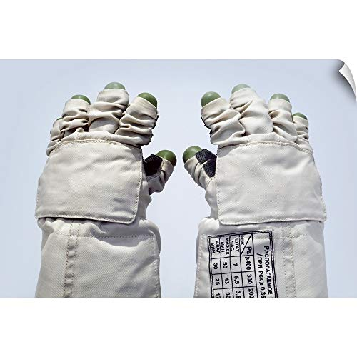 CANVAS ON DEMAND Orlan Spacesuit Gloves Wall Peel Art Print, 30