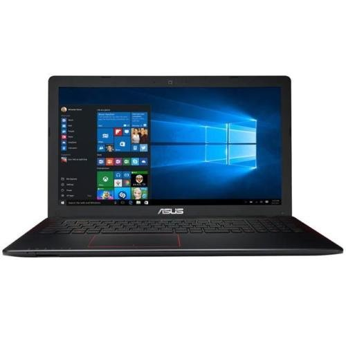 ASUS K Series Flagship Premium 15.6' Full HD Gaming Laptop PC, Intel Core i7-6700HQ, NVIDIA GeForce GTX 950M, 16GB RAM, 256GB SSD, VGA&HDMI, Webcam, Windows 10