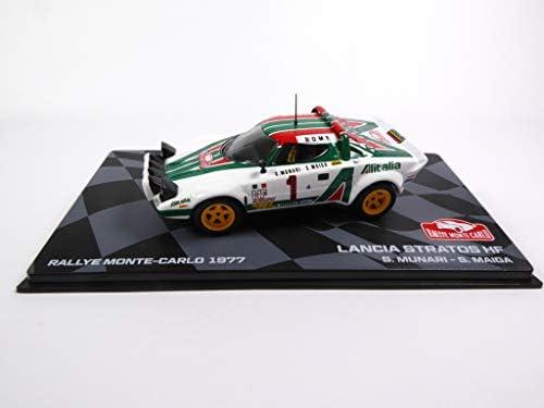 Lancia Stratos HF 1977 Winner 1977 Monte Carlo Munari 1/43 Ixo (BR3): Amazon.es: Juguetes y juegos