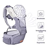 Excellent  Bable Baby Carrier with Hip Seat, 6-in-1 Convertible Carrier, 360 Ergonomic Baby Carrier Backpack, Cool MESH for Spring and Summer – for 8-33lbs