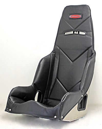 Kirkey 5518501 55 Series Pro Street Drag Seat Cover 18.5 Hip Width Black Vinyl F