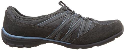 Skechers Sport Donna Conversazioni Affascinante Moda Sneaker Carbone Azzurro