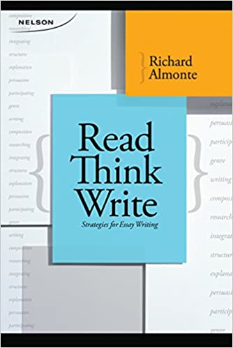 Read, think, write : strategies for effective essay writing