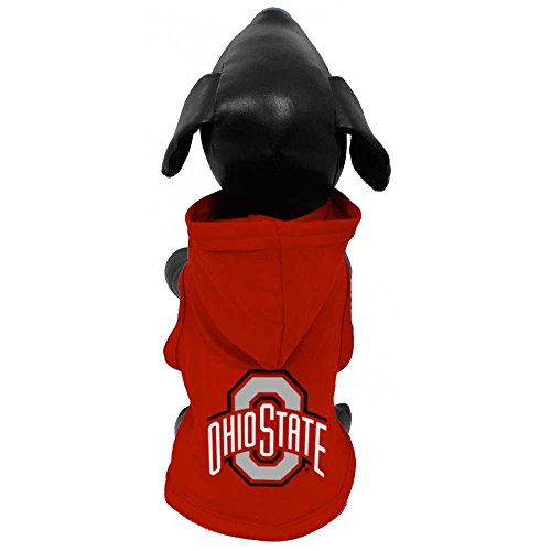 NCAA Ohio State Buckeyes Cotton Lycra Hooded Dog Shirt
