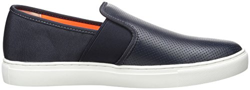 Navy X Fashion Exchange Armani A Slip Men Pu Microperf Sneaker zTad7x