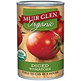 Muir Glen Organic Tomatoes, Diced, 14.5-Ounce Cans (Pack of 12)