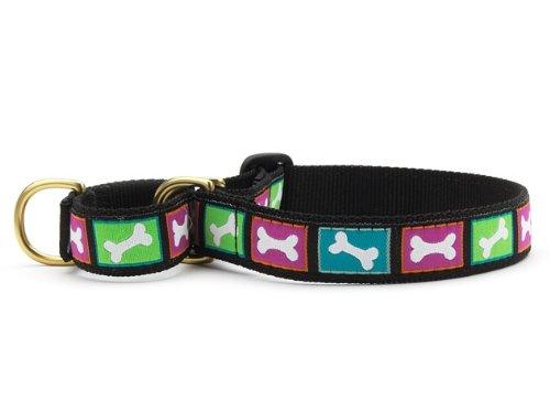 Bright Bones Martingale Dog Collar (Medium (W)
