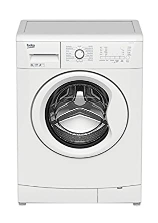 Beko WMB91233LW Freestanding 8 kg 1200RPM A White-Front load ...