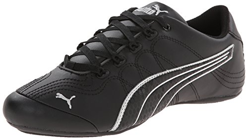 PUMA Women's Soleil v2 Comfort Fun Black/Puma Silver cheap 100% guaranteed mhYqQ3