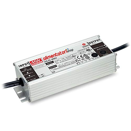 Output Current Adjust by Output Cable 48VDC 840mA 40W Class 2 IP67 Enclosed Switching Power Supply