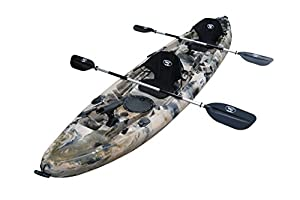 22. BKC UH-TK219 Sit-On-Top Tandem Kayak
