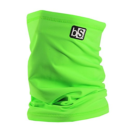 BlackStrap The Tube Solid Neck Warmer - One Size/Bright Green