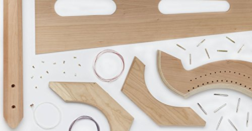 The Belle Harp DIY Kit - Small and Lightweight by Musicmakers
