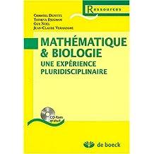 Mathematique & biologie expérience pluridisc