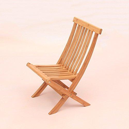 WANGXIAOLIN Folding Chair Dining Chair Portable Bamboo Chair Fishing Chair Folding Chair (Size : 45cm90cm) by WANGXIAOLINzhediedeng (Image #4)
