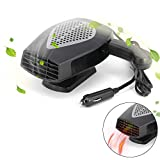 12V Portable Car Heater or Fan - Cooling Car Space & Fast Heating...