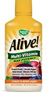 Nature's Way Alive! Multi-vitamin, Max Potency, 30 Ounce, (Packaging may Vary)