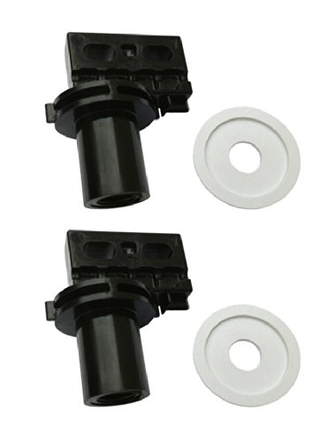 Rear Wheel Washer - 2) Polaris C65 Pool Cleaner 180 280 Washer Replacement Rear Large Axle Wheels
