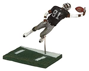 McFarlane Toys NFL Sports Picks Series 8 Action Figure Tim Brown (Oakland Raiders) Black Jersey