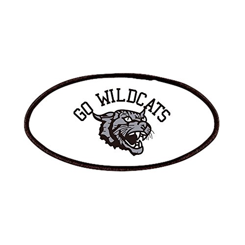 (CafePress - GO WILDCATS - Patch, 4x2in Printed Novelty Applique Patch)