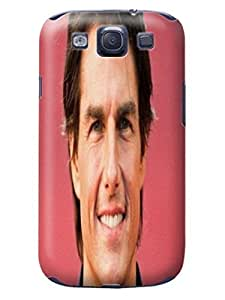 2014 waterproof dustproof Cool Tom Cruise fashionable Design TPU Plastic phone Case for Samsung Galaxy s3