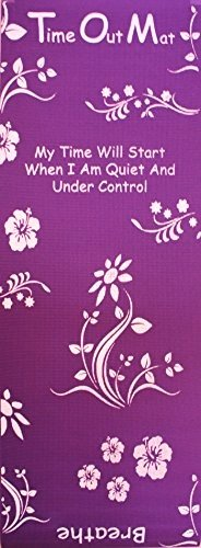 Time Out Mat - New Game Changing Parenting Tool for consistent, positive and safe child discipline (Purple)