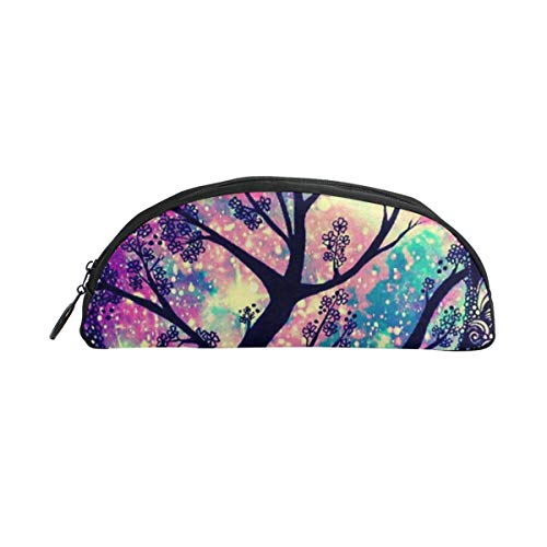 HengZhe Pencil Case Amazing Tree Pen Bag Cosmetic Pouch Students Stationery Holder Office Organizer -