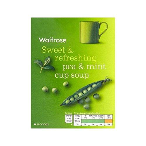Pea & Mint Cup Soup Waitrose 4 x 27g - Pack of 4