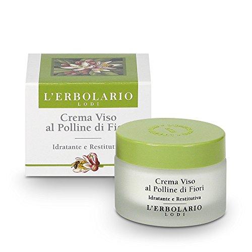 L'Erbolario Flower Pollen Face Day Cream 50ml Moisturising and Replenishing