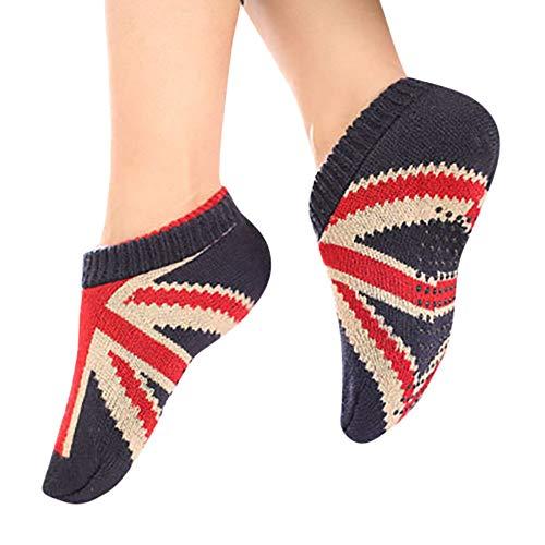 YOcheerful Women Girl 1 Pair Socks Adult Soft Cosy Home Bed Floor Booties Socks Sleep Sock Slipper Socks ()