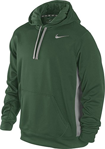 0 Nike Men's 2 Grey Dri Sweatshirt Hoodie KO Gorge Fit Green Hooded E4S4xrwqWZ